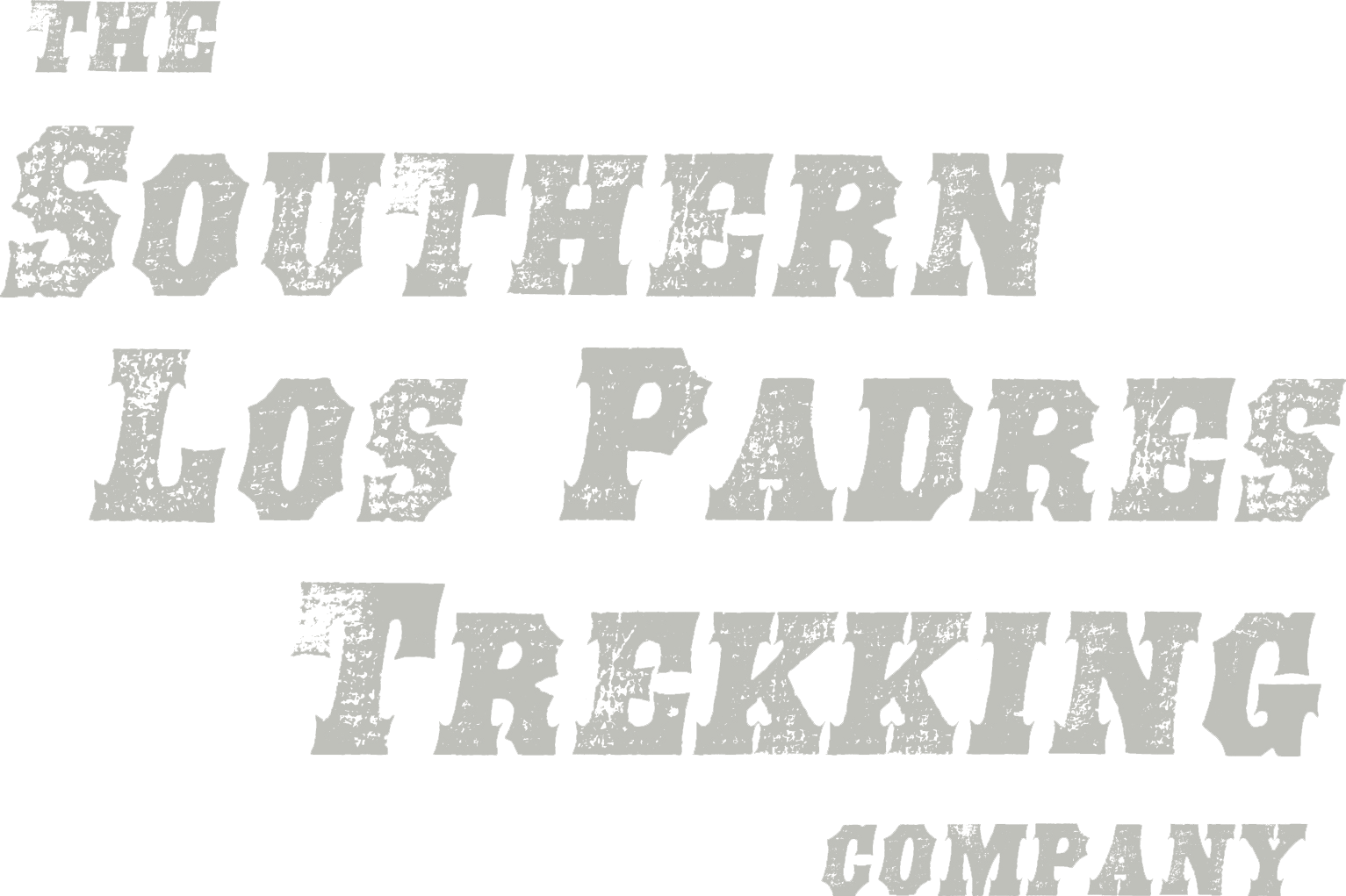 Southern Los Padres Trekking Co. Logo